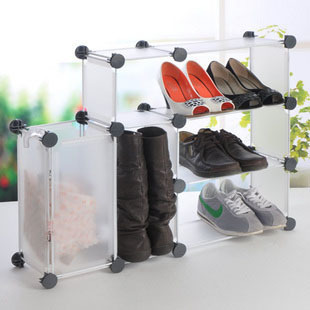 Green diy 40s-the simple debris storage rack combination shoe hanger balcony<br><br>Aliexpress