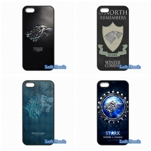 Games of Thrones House Stark Hard Phone Case Cover For Blackberry Z10 Q10 HTC Desire 816 820 One X S M7 M8 Mini M9 A9 Plus(China (Mainland))