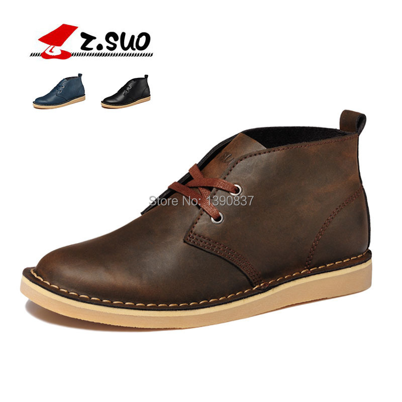 winter Genuine Leather Men boots Brand Waterproof keep warm Outdoor Tooling Boots yellowness men's Snow - Feng shang co., LTD store