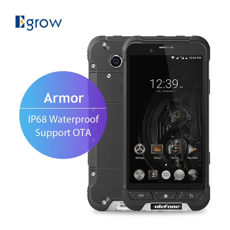 Original Ulefone Armor MTK6753 Octa Core Android 6.0 Mobile Phone 4.7 Inch 3G RAM 32G ROM Waterproof IP68 Rugged Smartphone(China (Mainland))