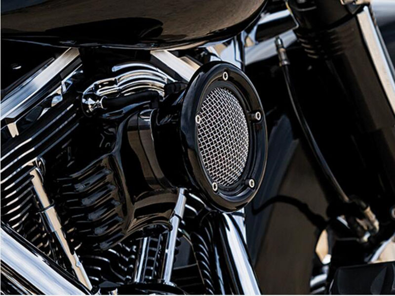 Retro CNC Aluminum Air Cleaner Intake Filter Motorcycles For Harley Sportster XL 883 1200 1991-2014(China (Mainland))