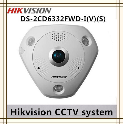 cctv camera Fisheye view type network cameras day and night 3MP DS-2CD6332FWD-I(V)(S) ipcamera POE /Micro SD/SDHC/SDXC(China (Mainland))