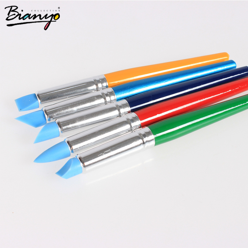 Гаджет  Firm Colour Shapers Clay Sculpting Tools Set Shapers Painting Silicon Brush Artist Oil Paint Brushes for Drawing Rubber Brush None Офисные и Школьные принадлежности