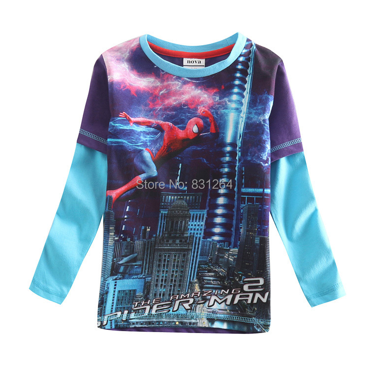Wholesale boys brand t shirt kids long sleeve top t shirts for Kids t shirts in bulk