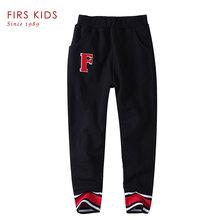 FIRS KIDS 2016 Children fashion cotton leisure kids baby boys/girls joggers turnup trousers girls ruffle pants child kids pants