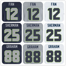 SexeMara 2016 New Roster Mens High Quality 100% Stitched Color Gray Navy Blue White Elite Jerseys(China (Mainland))