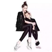 Новый приезжать мать и дети твердые мода капри леггинсы хорошее для весны и AutumnGZK(China (Mainland))