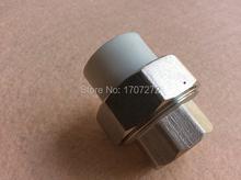Free shipping (2pcs/lot) Color White DN 20X1/2F Enviroment friendly plastic ppr female union fittings(China (Mainland))