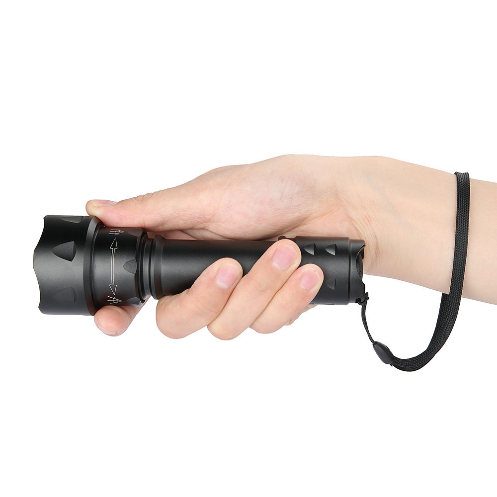 UniqueFire UF-T20 MINI Flashlight IR 940NM LED Zoomable Infrared Tactical Led Flashlight Torch for 18650 Rechargeable Battery