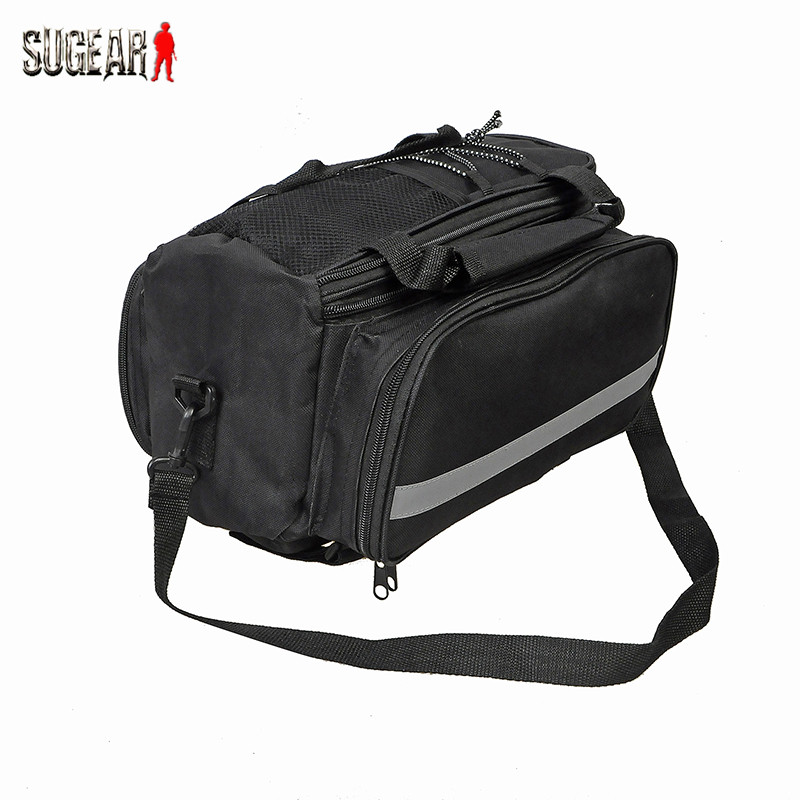 New Cycling Bicycle Bike Pannier Front Messenger Handlebar Bag Double Side Rear Rack Tail Seat Trunk Bag Pannier with Rain Cover(China (Mainland))