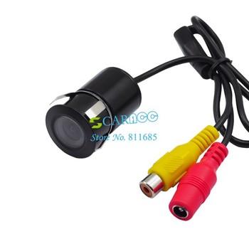 5pcs/Lot Night Vision Backup Reverse Car Rear Camera Black Waterproof Drop Shipping 595