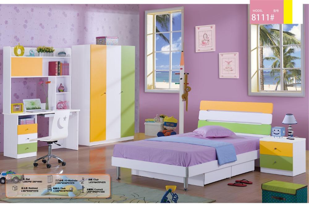 2016 Meuble Enfant Loft Bed Set Kids Table And Chair Wood