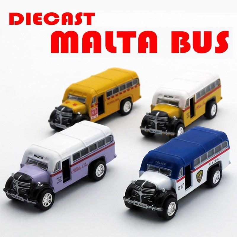 Diecast malta bus4