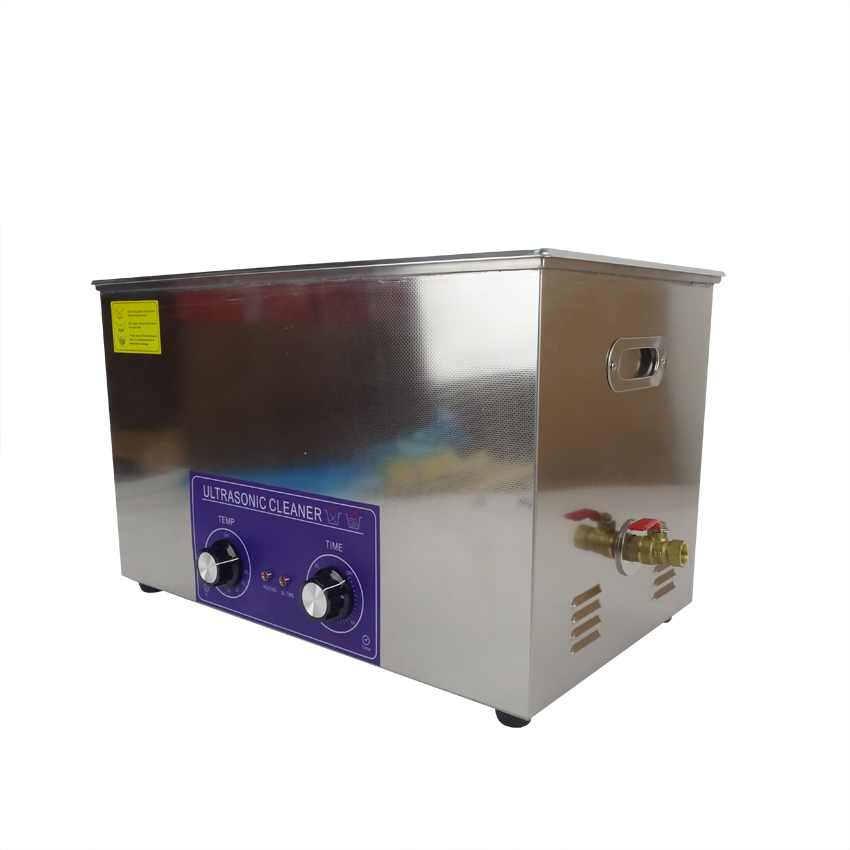 Free Shipping By DHL 1PC PS-100 600W 30L heat&timer Ultrasonic Cleaner,Heater Timer Cleaner Cleaning Equipment(China (Mainland))