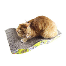 Mastone Scratcher with Catnip Cat Lounge Handmade Cats Kitten Scratcher Scratching Post Interactive Toy For Pet