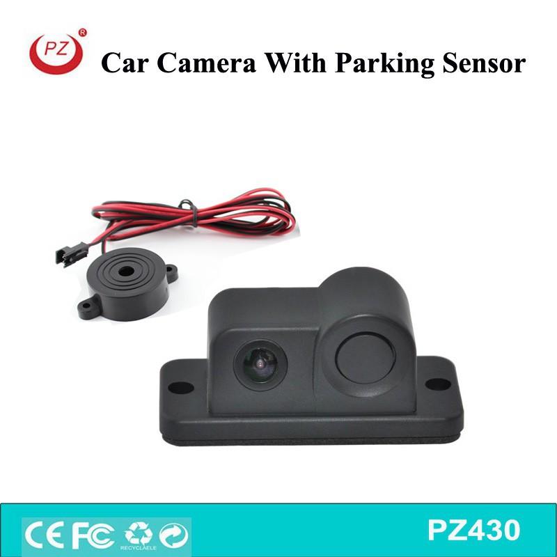 Araç geri geri park kamerası