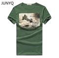 Free shipping 2017 men s short sleeved T shirt printing men s short sleeve t shirt