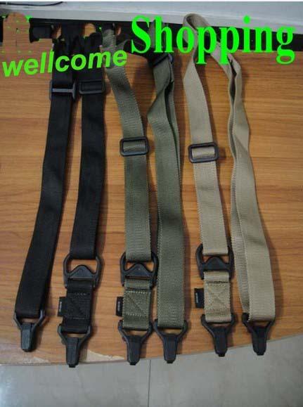 5pcs lot Sling Hunting Sling Shooting Rifle Carry Belt Black Tan Green