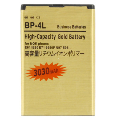 Gold BP-4L Battery Golden BP4L BP 4L Batteries For For Nokia N97i E71 E71x E73 E90 E90i N810 Batterij With Tracking Number(China (Mainland))