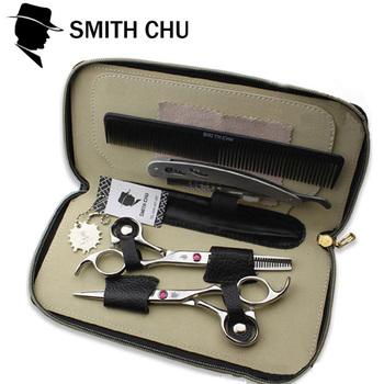 Смит чу ножницы профессиональный парикмахерские ножницы резка филировочные ножничные ...