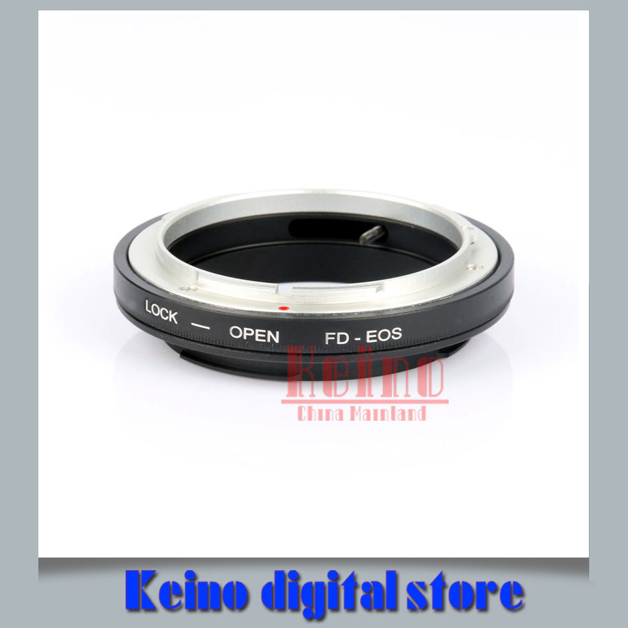 FD-E OS Mount Adapter No Glass For Can&n FD Lens to E&S EF 5D 7D 50D 70D 1100D Camera Digital Auto Focus(China (Mainland))