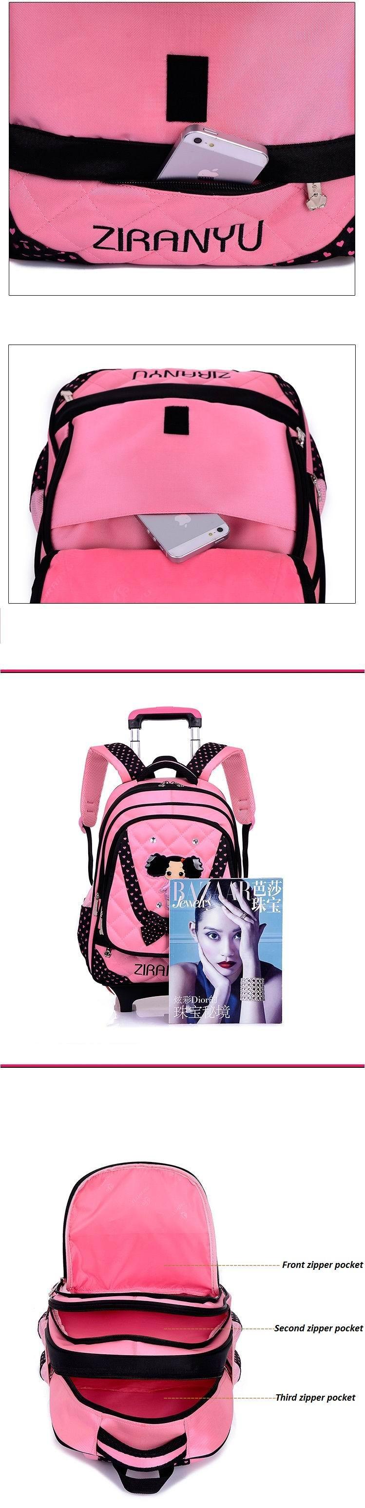 kids-wheeled-school-backpack-children-school-trolley-backpack-carton-pattern-rolling-luggage-kids-detachable-and-orthopedic-8
