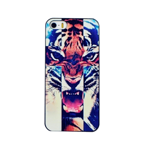 1 Animal Tiger Picture Custom Print Hard Plastic Mobile Phone Case Cover Iphone 4 4S 5 5S 5C - FashionPhoneCase store