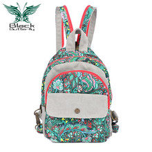 Women Backpack Daypack New Bag Shoulder Printing Original Female Korean Tide Lovely Small Backpack Shoulders Chest Leisure Ba (China (Mainland))