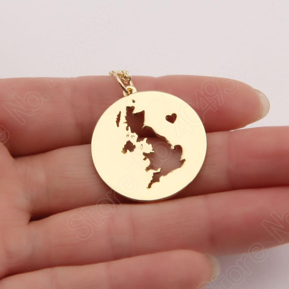 10pcs England Necklace Charm Pendant Great Britain UK United Kingdom European Tour Necklaces &amp; Pendants Delicate Scotland Map<br><br>Aliexpress