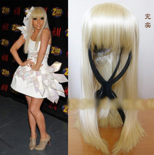 White Wig Extensions 12