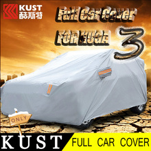 KUST Waterproof PE Cotton Full Car Cover For Kuga 2013 Exteriro Accessories Car Whole Body Covers For Kuga 2012 2015 For Escape(China (Mainland))