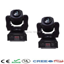 Buy 2pcs/lot Free&Fast 60W Led Moving Head Light Spot/Pattern Rotation Gobo DJ Stage Disco Light 60W Nightclub Party Lights for $218.24 in AliExpress store