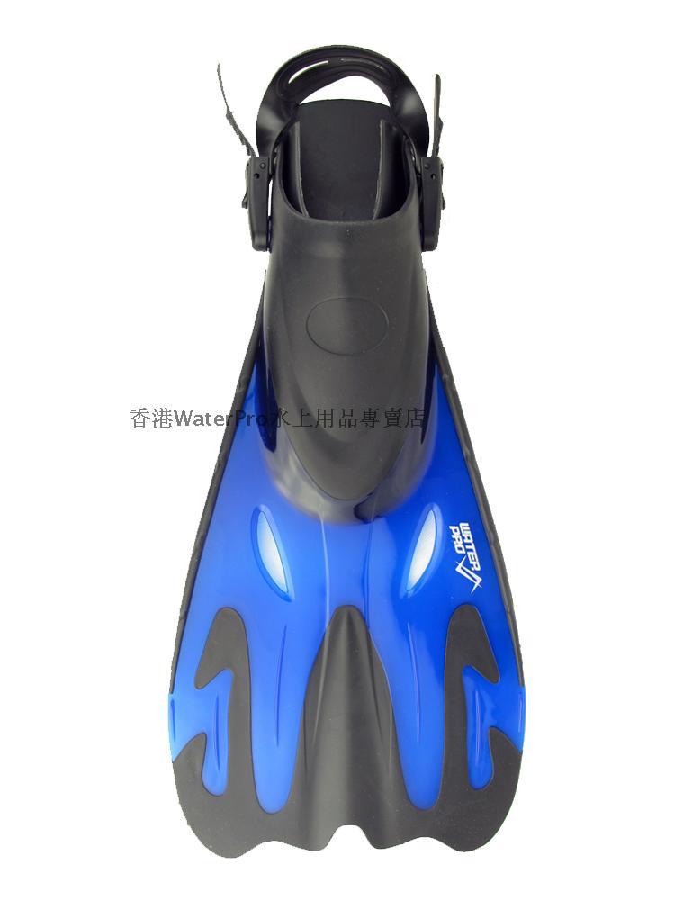 Water Pro Snorkeling Fins Black/Blue<br><br>Aliexpress
