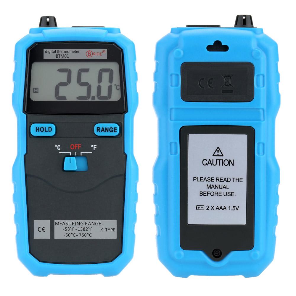 Multifunction Portable Digital Thermometer Temperature Measurement Meter K Type Testing Probe(China (Mainland))