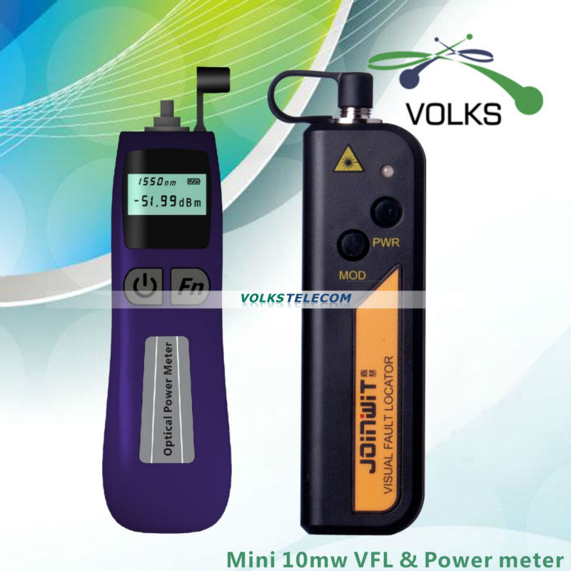 10mW Visual Fault Locat or Fiber Optic Cable Tester and Optical Power Meter free shipping(China (Mainland))