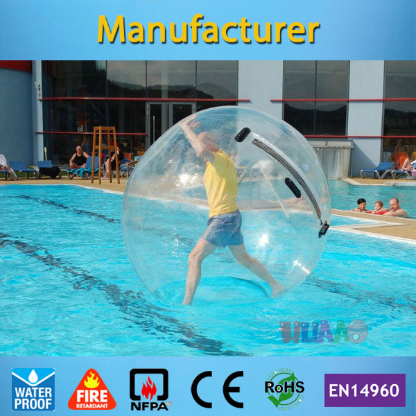 Free shipping water toys, water walking balloon, inflatable zorbing water ball for adults(China (Mainland))