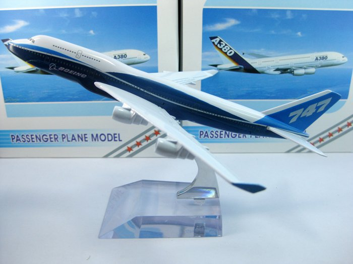 NEW Boeing B747-400 airplane model,16cm metal airlines plane model,airbus prototype machine , aircraft ,Christmas gift(China (Mainland))