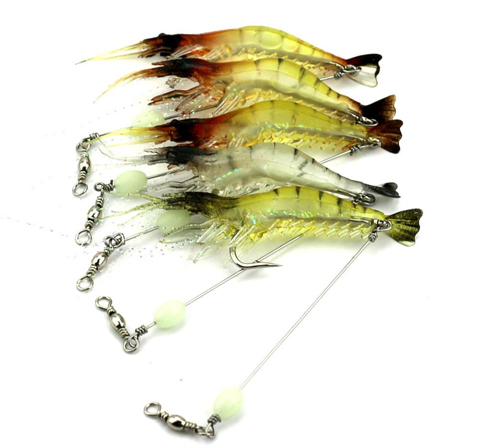 Soft Fishing Plastic Lure Plastic Materials Simulation