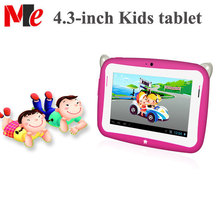 4.3 Inch Kids Tablet Educational Android 4.2 Tablet PC RK3026 Dual Dual Cameras 4GB ROM For Little geninus Private