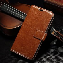 Fashion Simplicity Flip Leather Cover Case for Alcatel One Touch Pop C7 OT 7040D 7041D with Card Slots High Quality Handmade