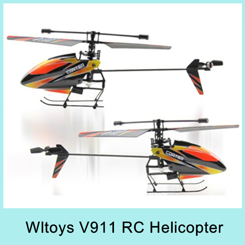 4CH 2.4Ghz WLtoys V911 RC Helicopter Radio RTF Single Propeller LCD Display Gyro with New Battery Gift Toy For Kids NEW 2014(China (Mainland))