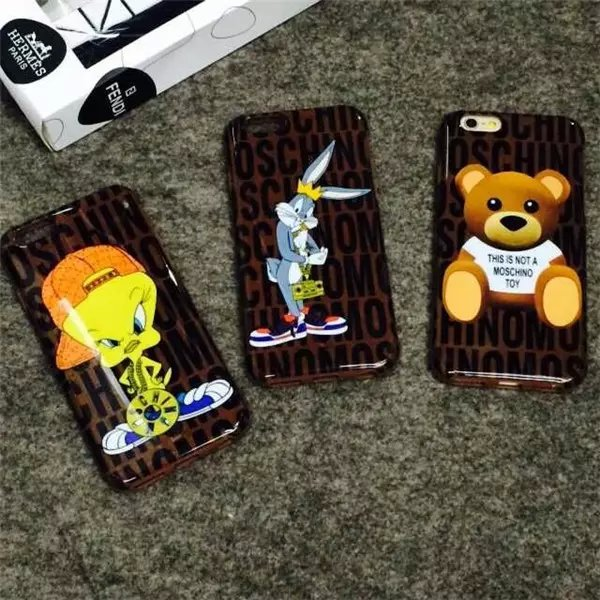 New Arrivel Teddy Bear Looney Tunes Bugs Bunny Coque TPU Funda case For iphone 6/6Plus back case cover Free Shipping(China (Mainland))