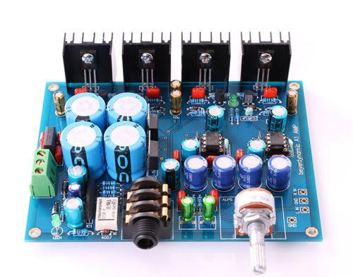 sep_store NEW (Ultimate Ver) EA1 headphone amplifier kit (base Beyerdynamic A1)(China (Mainland))