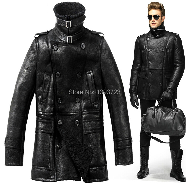 Lined Leather Jackets - Jacket