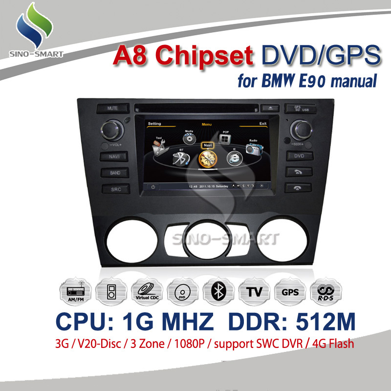 Автомобильный DVD плеер OEM 3G 1G RAM 512M 6,2' DVD GPS Bluetooth BMW E90 автомобильный dvd плеер oem dvd chevrolet cruze 2008 2009 2010 2011 gps bluetooth bt tv
