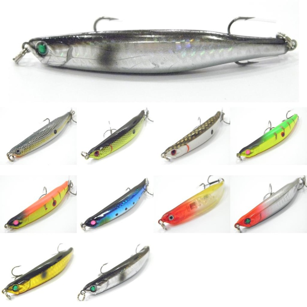 Гаджет  Fishing Lure Topwater Surface Dead Fish Hard Bait Fresh Water Shallow Water Fishing Tackle W624X38 None Спорт и развлечения