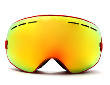 New genuine brand ski goggles double lens anti-fog big spherical professional ski glasses unisex multicolor snow goggles BNCF(China (Mainland))