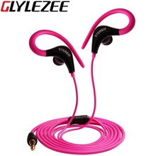 Glylezee Ear Hook Earphone Outdoor Sports Headphone Wired MP3 Headset Noice Cancelling Headphone for iPhone Samsung Xiaomi(China (Mainland))