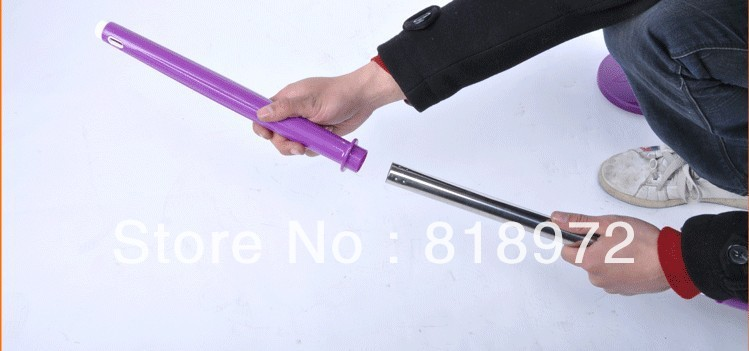 egg style hand pressure 360 spin go magic mop bucket + 1 strengthened s/s pole + 5 microfiber mops(China (Mainland))