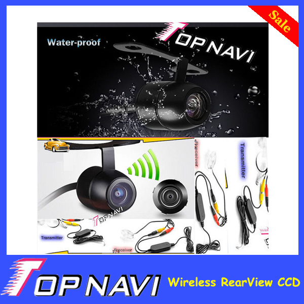 Wireless RearView CCD Car Backup Camera Reversing Camara Waterproof Night Vision<br><br>Aliexpress